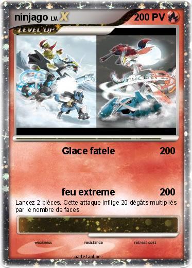Pok mon ninjago 91 91 glace fatele ma carte pok mon - Carte ninjago ...