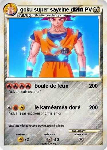 Pokemon Goku Super Sayeine Divin