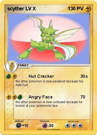 Pok mon scyther lv x 1 1 nut cracker ma carte pok mon - Elector pokemon x ...
