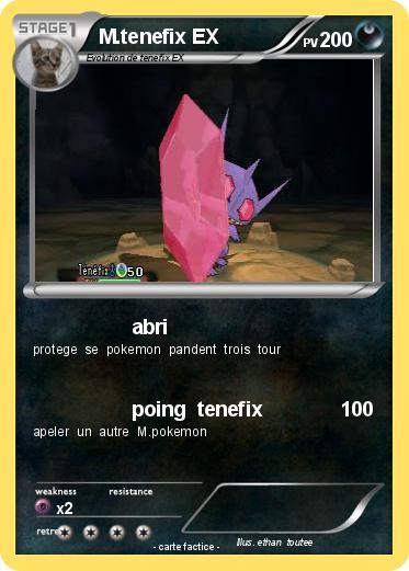 Pok mon m tenefix ex 1 1 abri ma carte pok mon - Pokemon tenefix ...