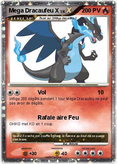 Pokemon Mega Dracaufeu X 42