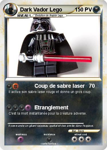 Pok mon dark vador lego coup de sabre laser ma carte pok mon - Vaisseau de dark vador ...