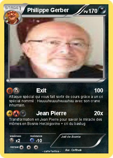 Pokemon <b>Philippe Gerber</b> - td6z1D0EmOCc