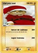 chat père noel