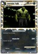 monster hulk