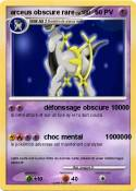 arceus obscure