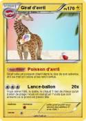 Giraf d'avril