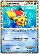Pikachu Noël