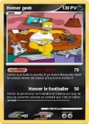 Homer geek