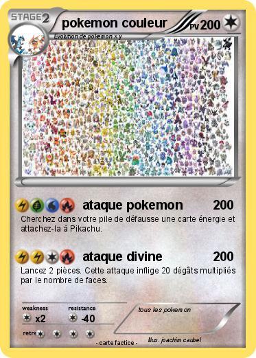 Pokemon Pokemon Couleur