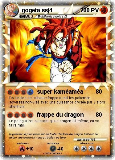 Carte dragon ball z gogeta - Mypokecard com ...