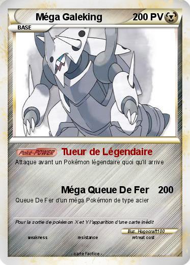 Pokemon Mega Galeking