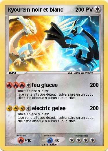 Carte pok mon noir et blanc - Pokemon legendaire blanc 2 ...