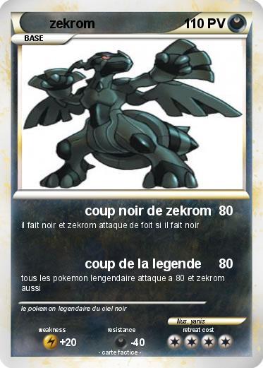 Pokemon Zekrom 301