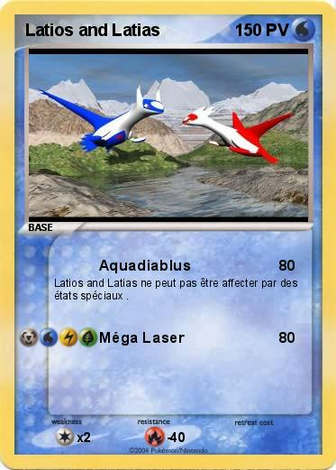 Pokemon Latios and Latias 7