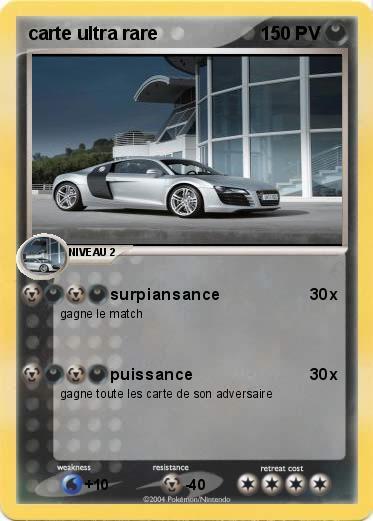 Pok mon carte ultra rare surpiansance ma carte pok mon - Les pokemon rare ...