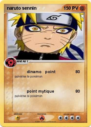Pok mon naruto sennin 1 1 dinamo point ma carte pok mon - Rikudo a imprimer ...