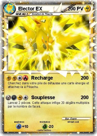 Pok mon elector ex 24 24 recharge ma carte pok mon - Elector pokemon x ...