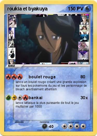 Roukia kuchiki (de Bleach) dans Carte Pokemon en autres personnages yECbXrXsSz0q
