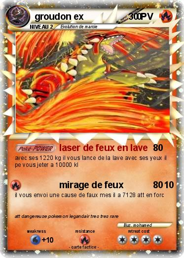Carte pokemon groudon ex - Mypokecard com ...