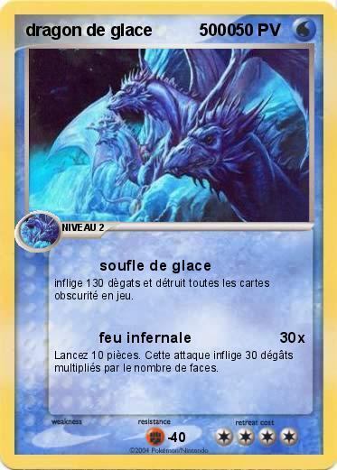 Pokemon Dragon De Glace 5000