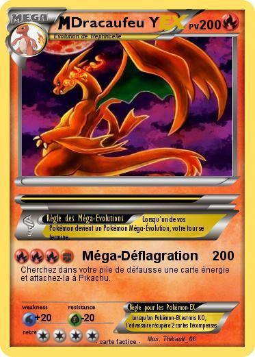 Pokemon Dracaufeu Y 22