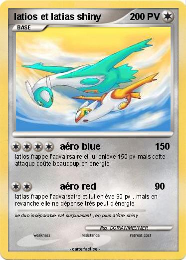 Pokemon latios et latias shiny 2