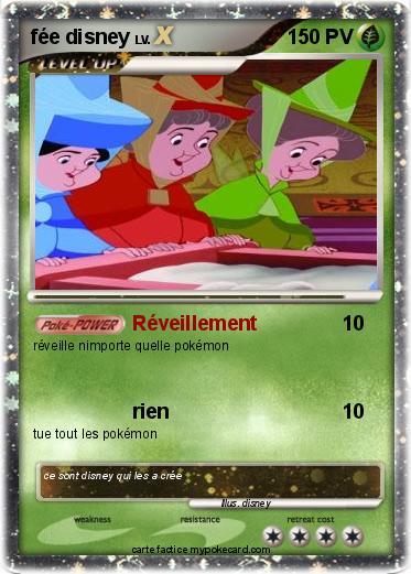 Pok mon fee disney r veillement ma carte pok mon - Carte pokemon fee ...