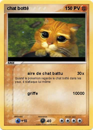 Pokemon chat botté