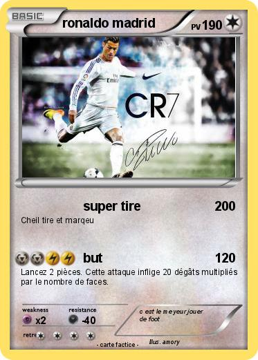 Pokemon ronaldo madrid