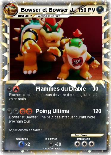 Pokemon Bowser et Bowser J.