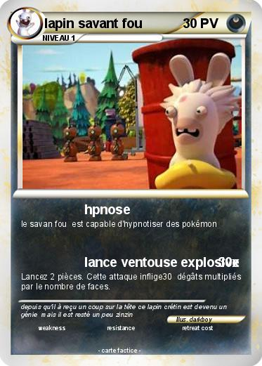 Pokemon lapin savant fou