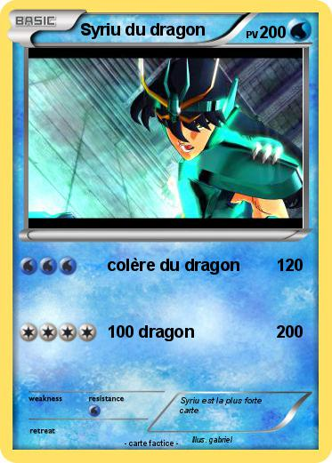 Pokemon Syriu du dragon