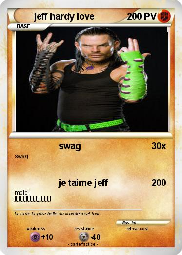 Pokemon jeff hardy love