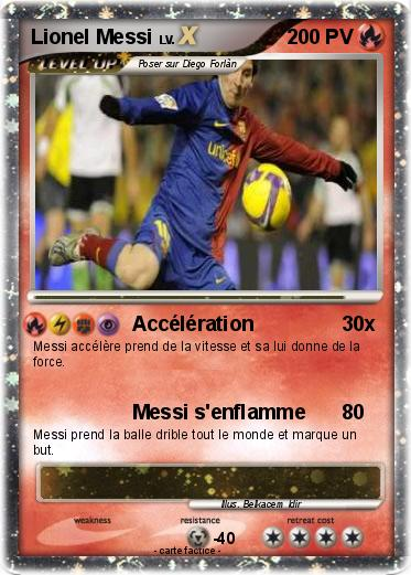 Pokemon Lionel Messi