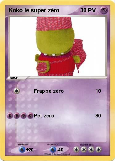 Pokemon Koko le super zéro
