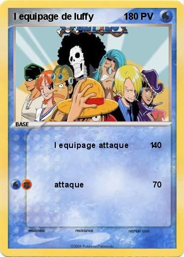 Pokemon l equipage de luffy            1
