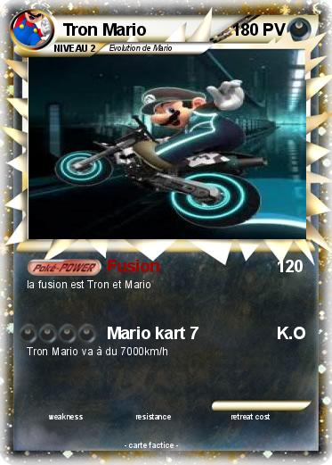Pokemon Tron Mario