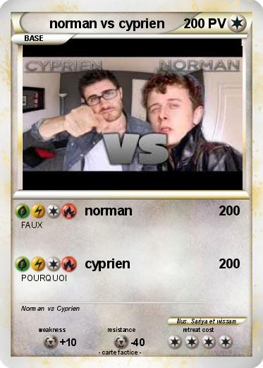 Pokemon norman vs cyprien