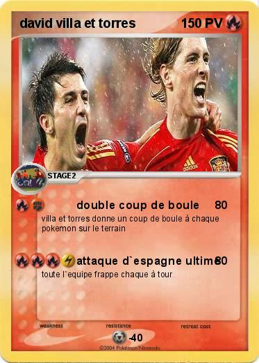 Pokemon david villa et torres