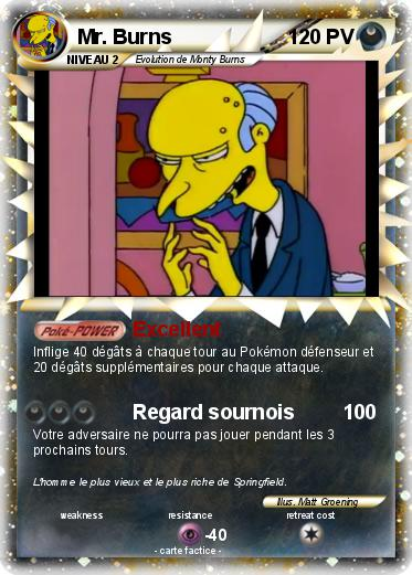 Pokemon Mr. Burns