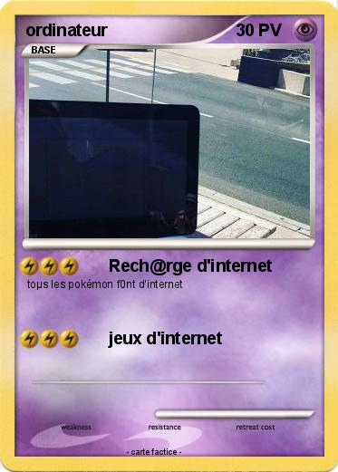 Pokemon ordinateur