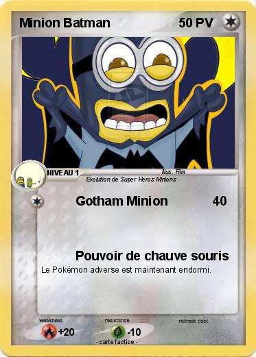 Pokemon Minion Batman