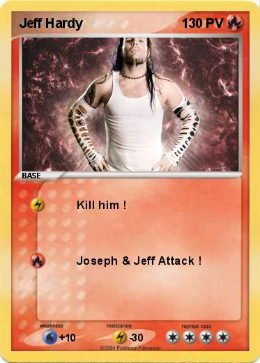 Pokemon Jeff Hardy