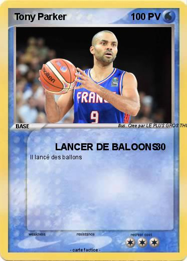Pokemon Tony Parker