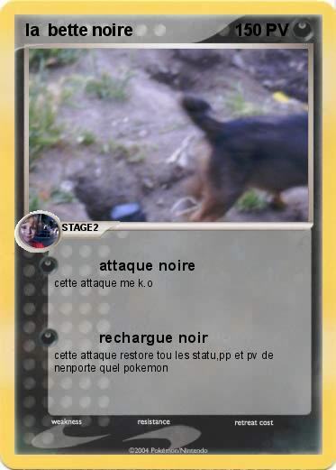 Pokemon la  bette noire