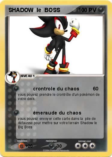 Pokemon SHADOW  le  BOSS