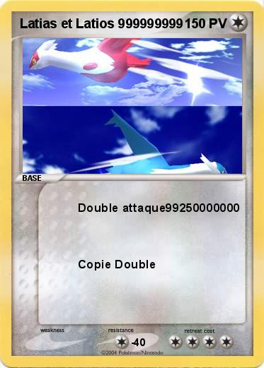 Pokemon Latias et Latios 999999999