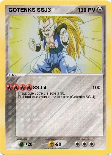 Pokemon GOTENKS SSJ3
