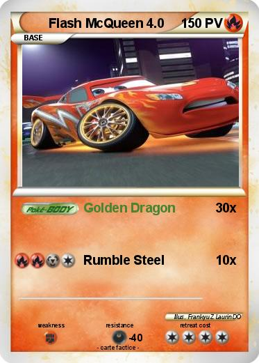 Pokemon Flash McQueen 4.0